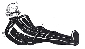 Rubber Sleepsack Illustration